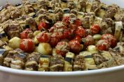 Lübnan usulü tahinli patlıcan kebabı