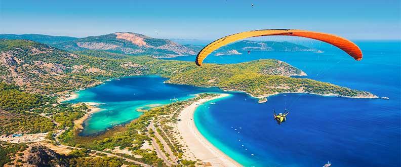 Türkiye'de Yamaç Paraşütü Yapılacak Bölgeler Nelerdir