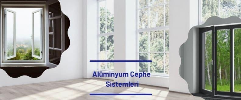 Alüminyum Cephe Kaplama Sistemleri